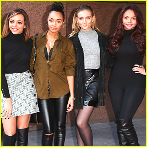 Little Mix & Their Fantastic Style Step Out For ICAP Charity Trading Day