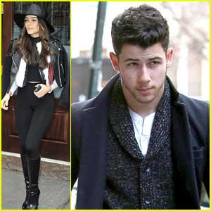 Nick Jonas & Olivia Culpo Swing By Burton Snowboards