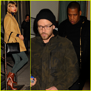 Taylor Swift Spends Even More Time with Jay Z & Justin Timberlake!