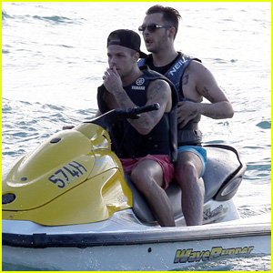 Union J's Jaymi Hensley Rides Jet Skis with Fiance Olly Marmon - See the Cute Pics!