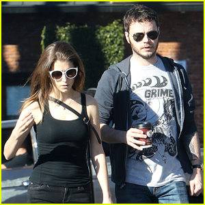 Anna Kendrick & Her Boyfriend Ben Richardson Grab Coffees Together