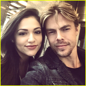 Bethany Mota & Derek Hough Reunite In New York City - See The Cute Pic!