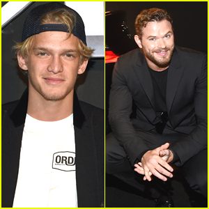 Cody Simpson Checks Out The New 2016 Chevy Volt With Kellan Lutz