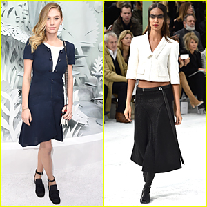 Dylan Penn & Joan Smalls Hit Spotlight For Paris Fashion Week