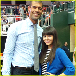 Every Witch Way's Elizabeth Elias Sings National Anthem At Miami Basketball Game - Watch Here!