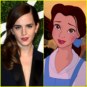 Emma Watson is Belle in Disney's Live Action 'Beauty & the Beast'!