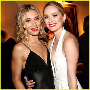 Greer Grammer & Spencer Grammer Have A Sisters Night Out At EW's SAG Party