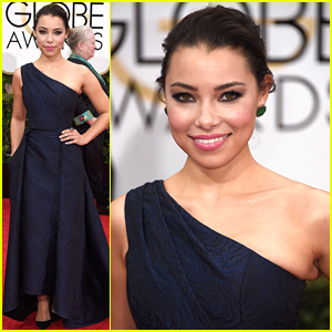 Jessica Parker Kennedy Brings 'Black Sails' To Golden Globes 2015