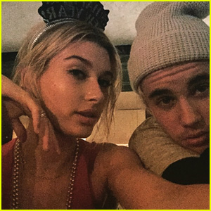 Justin Bieber Rings in 2015 with Hailey Baldwin!