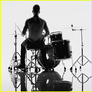 Justin Bieber Plays Drums Shirtless in New 'Calvin Klein' Ad - Watch Now!