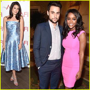 Aja Naomi King & Karla Souza Bring 'Murder' To AFI Awards 2015