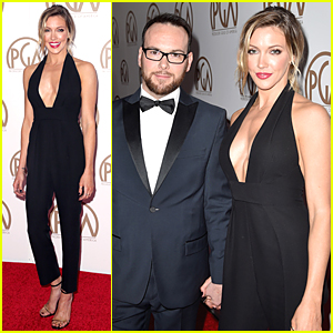 Katie Cassidy Supports Boyfriend Dana Brunetti at PGA Awards 2015