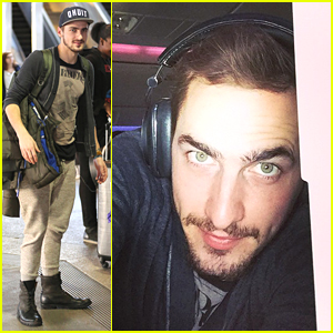 Kendall Schmidt Sports 'Stache After Amazing European Vacation