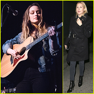 Leighton Meester & Kelly Rutherford Have 'Gossip Girl' Reunion at Hollywood Concert
