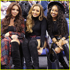 Little Mix: Girl's Night at NBA Global Games Without Perrie Edwards