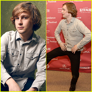 Logan Miller Hits Up Sundance Film Festival For 'Take Me To The River'