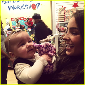 Nick Jonas' Girlfriend Olivia Culpo Spends Time with His Niece Alena Rose