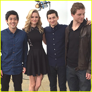The 'Project Almanac' Cast Played With Drones During Their JJJ Takeover!