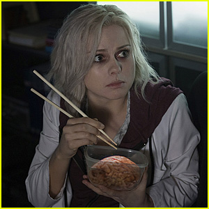 Rose McIver Eats Hot Sauce-Soaked Brains in New 'iZombie' Stills & Trailer!