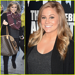 Shawn Johnson Bundles Up In New York City After Being Fired From 'Celebrity Apprentice'