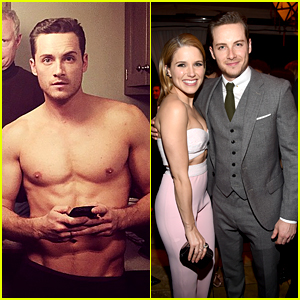 Sophia Bush & Jesse Lee Soffer Cozy Up at EW's SAG Party!