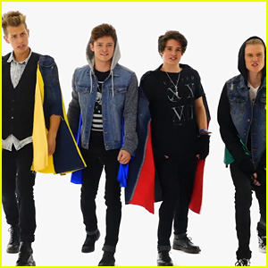 The Vamps Strip Down to Their Underwear for 'Teens for Jeans' - Watch Now!