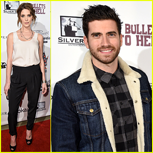 BFFs Ashley Greene & Ryan Rottman Check Out '6 Bullets to Hell'