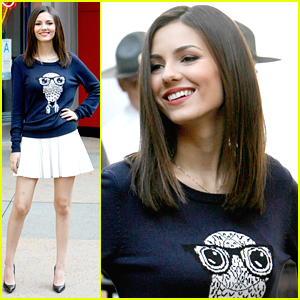 Victoria Justice Brings 'Eye Candy' To 'Extra'
