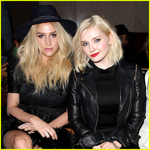 Abigail Breslin Sits Front Row with Kesha at Zac Posen Show