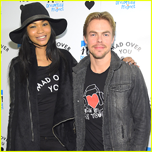 Derek Hough Gets His Workout In After DreamYard Poetry Slam