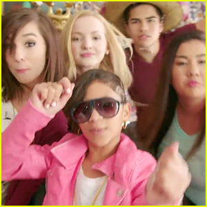 Dove Cameron & Christina Grimmie Sing & Dance To 'What A Girl Is' Before Tonight's 'Liv and Maddie' - Watch Now!