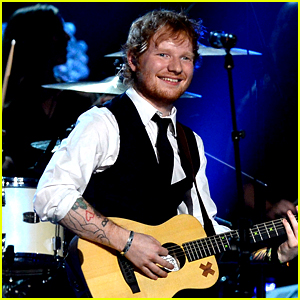 Ed Sheeran Performs 'Thinking Out Loud' at Grammys 2015 (Video)