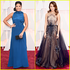 Gina Rodriguez & Jamie Chung Hit Oscars For First Time!