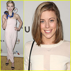 Gracie Gold & Ashley Wagner Bring Medal Power To 'Gold Meets Golden' Oscar Event
