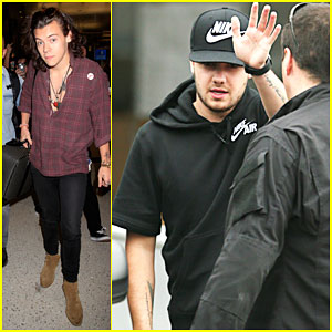 Harry Styles & Liam Payne Get Ready to Kick Off One Direction's 'On the Road Again' Tour