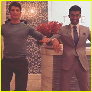 Justin Baldoni & Brett Dier's Bromance Is Getting Out Of Control, According to Gina Rodriguez