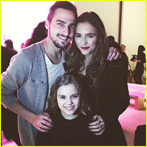 Kendall Schmidt & Lennon & Maisy Fangirl Over Each Other at New York Fashion Week