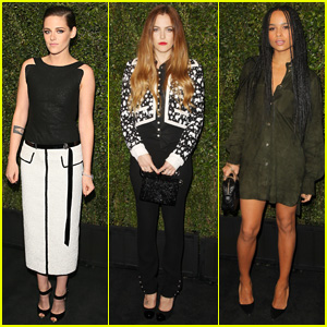 Kristen Stewart Parties It Up With Pal Riley Keough at Pre-Oscars Party!