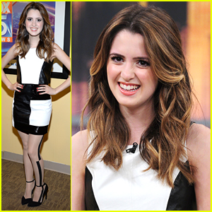Laura Marano Is Having a Great Hair Day While Promoting 'Bad Hair Day'