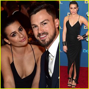 Lea Michele Brings Boyfriend Matthew Paetz to DGA Awards 2015