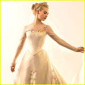 Lily James: See Cinderella's Wedding Gown NOW!
