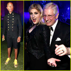 Meghan Trainor Dances with Dad Gary at Grammys 2015 After Party!