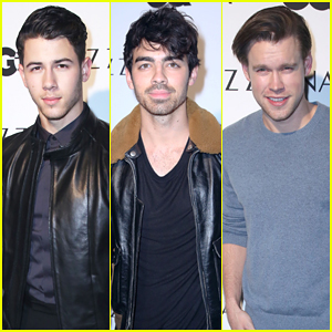 Nick Jonas Hosts GQ's New Z Zegna Collection Celebration!