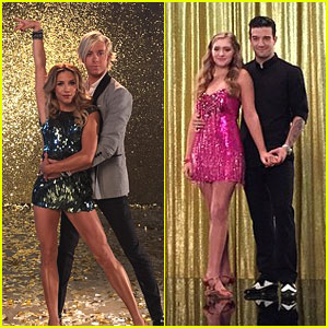 Riker Lynch & Willow Shields Shoot 'DWTS' Promos - See The Cool Pics!
