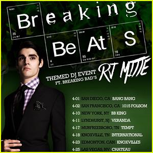 RJ Mitte Announces 'Breaking Beats' DJ Tour!