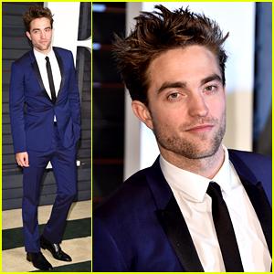Robert Pattinson Looks Hotter Than Ever at Oscars 2015 Parties!