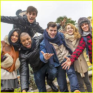 Martina Stoessel & 'Violetta' Cast Enjoy Day at Disneyland Paris Together