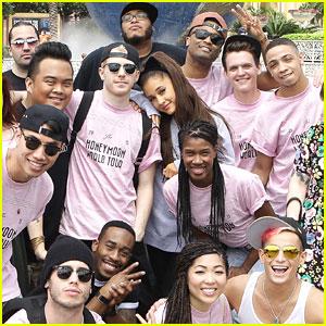 Ariana Grande Announces More 'Honeymoon Tour' Dates After Hitting Universal Orlando