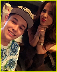Becky G Says Austin Mahone is Super Cute, But They're Not Dating!