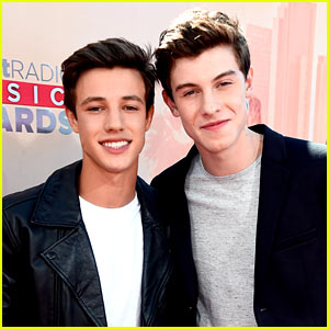 Shawn Mendes Represents His Fan Army at iHeartRadio Music Awards 2015!